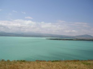 Climate of Armenia - A view of Lake Sevan from the Sevanavank monastery