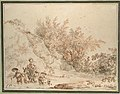 Landscape with Peasants Fording a Stream MET DP119732.jpg
