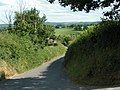 Lane and fields at Venn - geograph.org.uk - 1393674.jpg