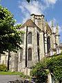 Larchant (77), basilique Saint-Mathurin, chevet 1.JPG