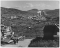 Larderello, Italy. The picture shows Larderello in the background with refrigerators and plant buildings. At left... - NARA - 541722.tif