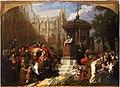 Latimer preaching at St.Paul's cross by Sir George Hayter 1855.jpg