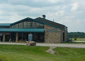 Arnold Palmer Regional Airport - Image: Latrobe Airport Terminal 2011