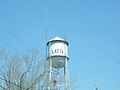 Latta, South Carolina water tower.JPG