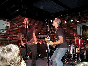 The Lawrence Arms - Left to right: McCaughan, Kelly, and Hennessy in 2005