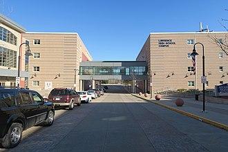 Lawrence High School (Massachusetts) - Image: Lawrence High School Campus, Lawrence MA