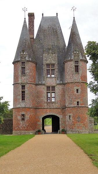 Le Chateau de carrouges  l orne
