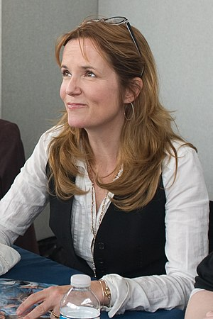 Lea Thompson - At the 2008 Collectormania 13 Convention in Milton Keynes, UK