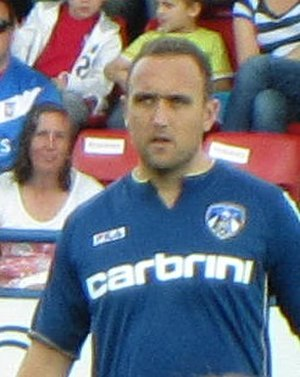Lee Croft - Croft playing for Oldham Athletic in 2012