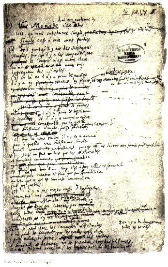 Leibniz Monadology 1