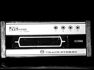Album - A typical 8-track tape player
