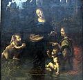 Leonardo da vinci, vergine dele rocce, prima versione, 1483-1486 ca. 02.JPG