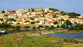 Leucate Plage (Aude), view from Etang.jpg