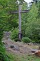 Lichtenberg - Gipfelkreuz auf der Gis.jpg