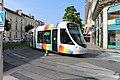 Ligne A Tramway boulevard Foch rue Alsace Angers 6.jpg