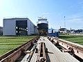 Liisi Bow Noblessner Shipyard Tallinn 11 September 2013.JPG