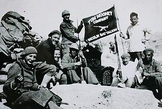 Lincoln Battalion - The Lincoln Battalion Machinegun Company