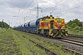 Lintorf Thyssen Krupp MaK G1206 544 met Tadns wagons (27209050904).jpg