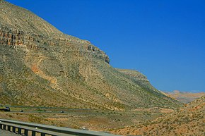 Interstate 15, in der Gegend um Littlefield, Mohave County