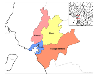 Littoral Region (Cameroon) - Departments of Littoral