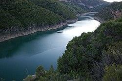 Lleida - Río Noguera Pallaresa - Embalse de Camarasa.jpg
