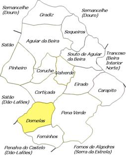 Dornelas (Aguiar da Beira) Civil parish in Centro, Portugal