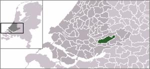 Brandwijk - Image: Locatie Graafstroom