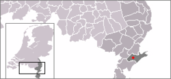Location of Sint Odiliënberg