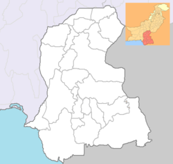 କରାଚି   کراچی is located in Sindh