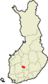 Location of Jämsä in Finland.png