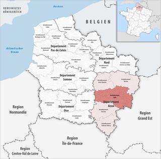 Arrondissement of Laon Arrondissement in Hauts-de-France, France