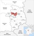 Locator map of Kanton Saint-Martin-d'Auxigny 2019.png