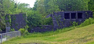 Lock 18 of Enlarged Erie Canal - West end of lock, 2008