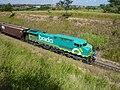 Locomotiva no final do comboio que passava sentido Guaianã na Variante Boa Vista-Guaianã km 199 em Itu - panoramio (1).jpg