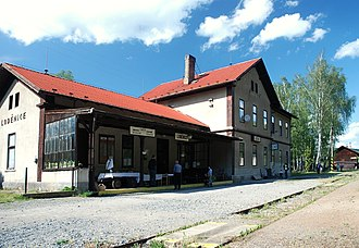 Closely Watched Trains - The station building in Loděnice where the film was shot