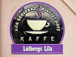 Löfbergs - Advertising for Löfbergs.