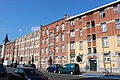 Logements sociaux du Foyer Laekenois Bruxelles - rue Emile Delva 75 à 87.JPG