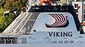 Logo de la naviera Viking, Bergen, Noruega, 2019-09-08, DD 01.jpg
