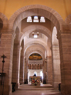 Germigny-des-Prés - Perspective of the interior