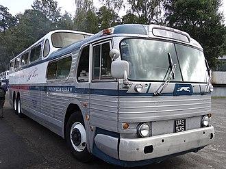 PD-4501 Scenicruiser - A preserved Scenicruiser in England, 2013