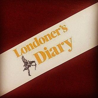 Londoner's Diary - Image: Londoner's Diary Logo