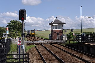 Tees Valley line Railway line from Bishop Auckland to Saltburn, operated by Northern