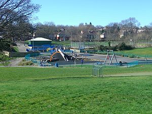 Longley Park - The new children's adventure playground for older children.