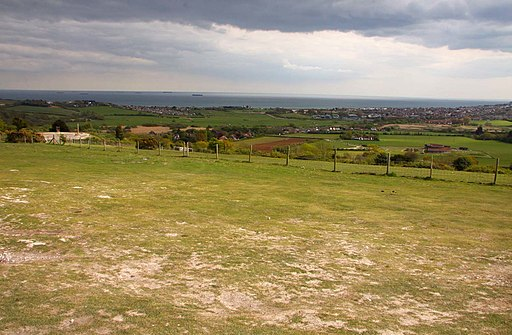 Looking down from Brading Down - geograph.org.uk - 1928719