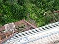 Looking down from a trestle, Hiawatha Trail (10490620603).jpg
