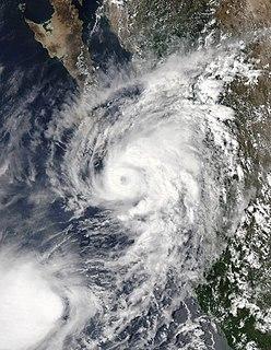 Hurricane Lorena (2019) Category 1 hurricane that made landfall on Mexico