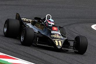 Lotus 88 - A Lotus 88 driven by Takuma Sato in 2015