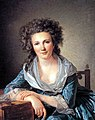 Louis-Roland Trinquesse A portrait of a Lady 1791.jpg