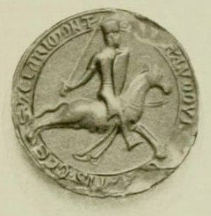 Louis I, Count of Blois - Seal of Louis I