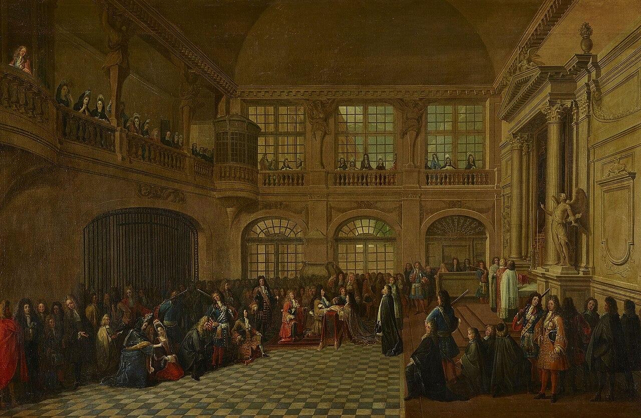 Ремесленник Людовика XIV le serment du marquis de Dangeau.jpg